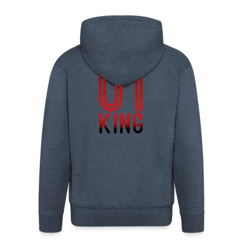 King Hoodie - Männer Premium Kapuzenjacke