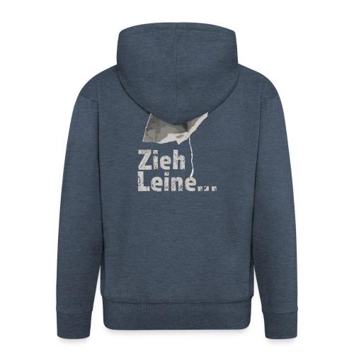 Zieh Leine - Männer Premium Kapuzenjacke