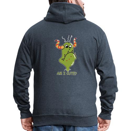Cute monster - Men's Premium Hooded Jacket