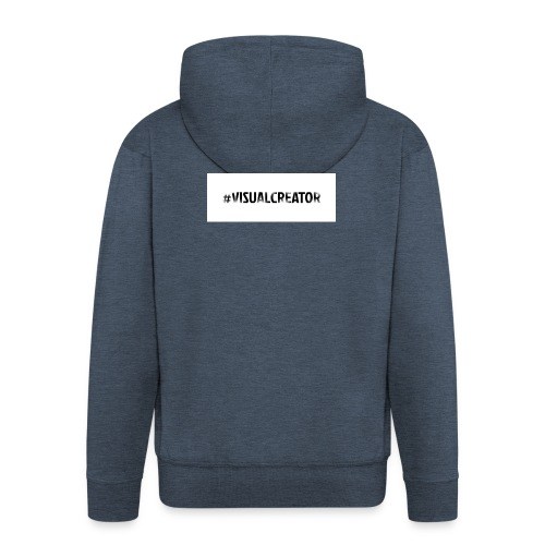 #Visualcreator - Männer Premium Kapuzenjacke