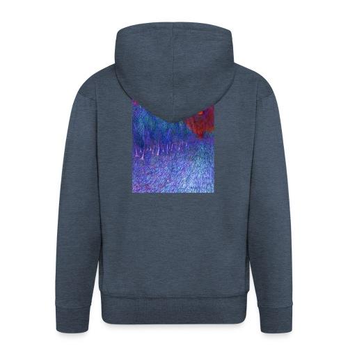 In Road - Rozpinana bluza męska z kapturem Premium