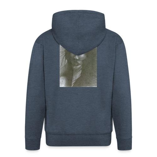 I Fear - Rozpinana bluza męska z kapturem Premium