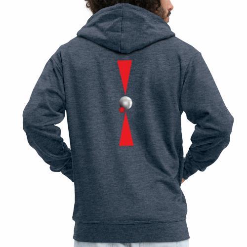 Petanque Minimalisme - Veste à capuche Premium Homme