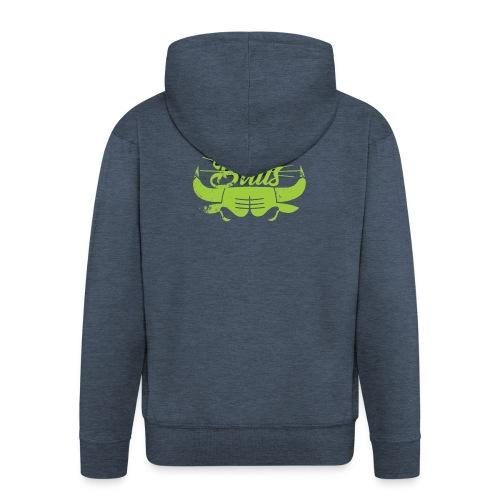 Toros verdes, Bulls BasketBall deporte - Chaqueta con capucha premium hombre