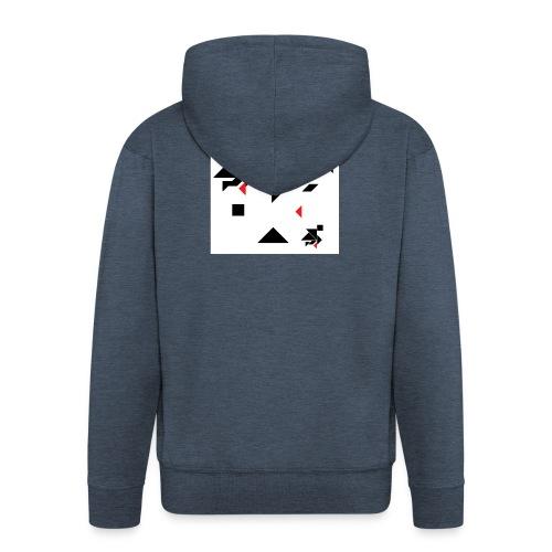 sreadshirt-catalogo-Uomo_tangram_2 - Veste à capuche Premium Homme