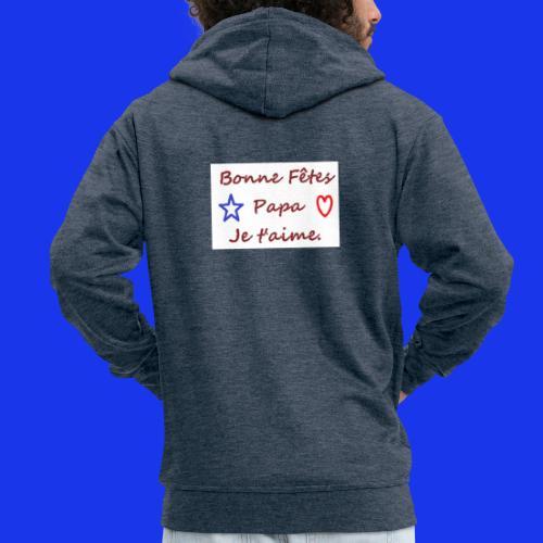 papa - Veste à capuche Premium Homme