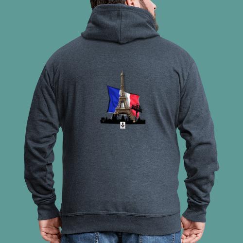 Tee shirt marque mutagene PARIS - Veste à capuche Premium Homme