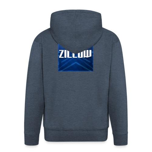Zillow Logo - Men's Premium Hooded Jacket
