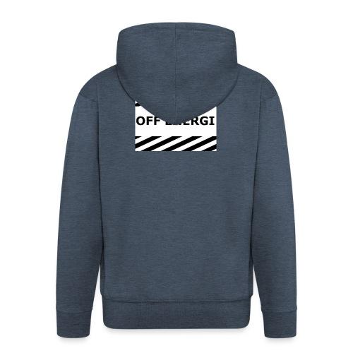 OFF ENERGI officiel merch - Premium-Luvjacka herr