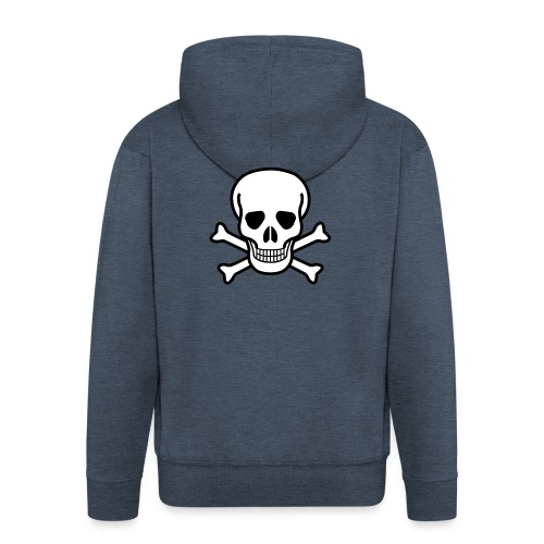 SKULL HOODIE - Men's Premium Hooded Jacket