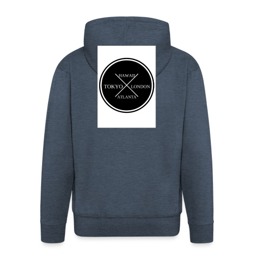 Four City Design - Men's Premium Hooded Jacket