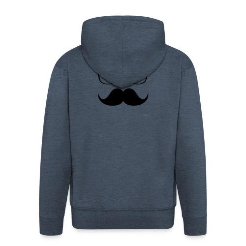 HipsterStyle - Chaqueta con capucha premium hombre