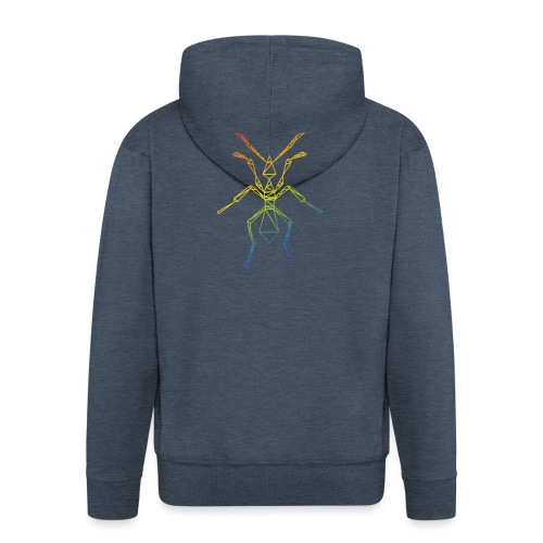 ANT - Logo - Men's Premium Hooded Jacket