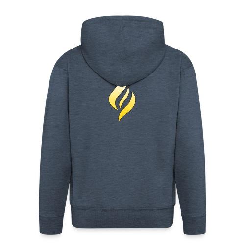LUX Default Logo - Men's Premium Hooded Jacket