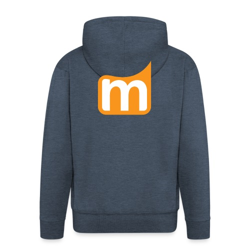 Medifit Lünen Logo - Männer Premium Kapuzenjacke