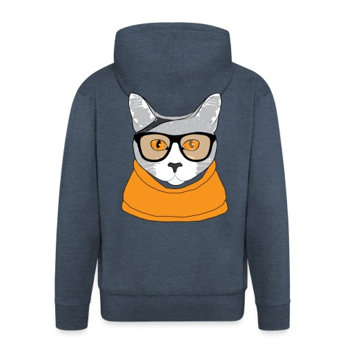 Cat - Veste à capuche Premium Homme