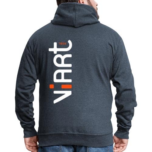 ViArt asbl Logo - Männer Premium Kapuzenjacke