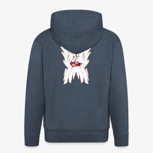 Pokerface - Men's Premium Hooded Jacket