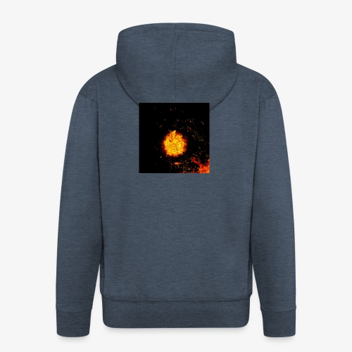 FIRE BEAST - Mannenjack Premium met capuchon