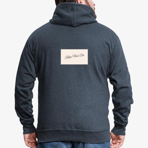 Kings Never Die - Men's Premium Hooded Jacket