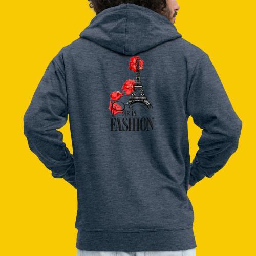 PARIS FASHION - Veste à capuche Premium Homme
