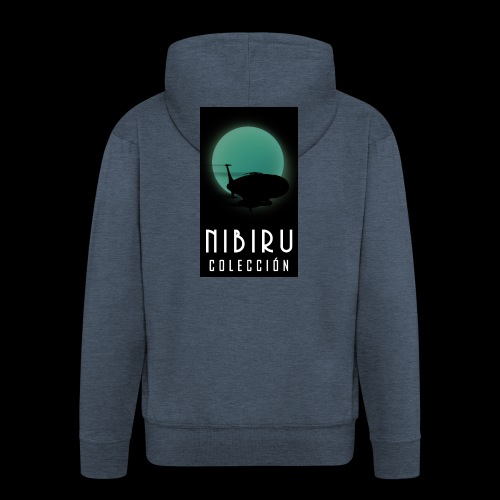 colección Nibiru - Chaqueta con capucha premium hombre