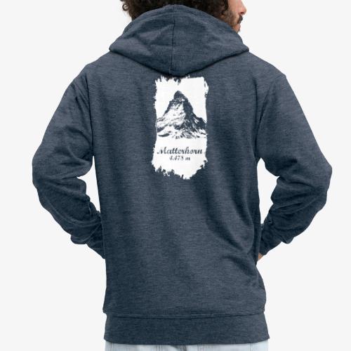 Matterhorn - Cervino - Men's Premium Hooded Jacket