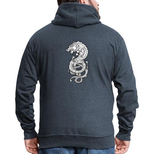 Le Loup Fenrir - Veste à capuche Premium Homme