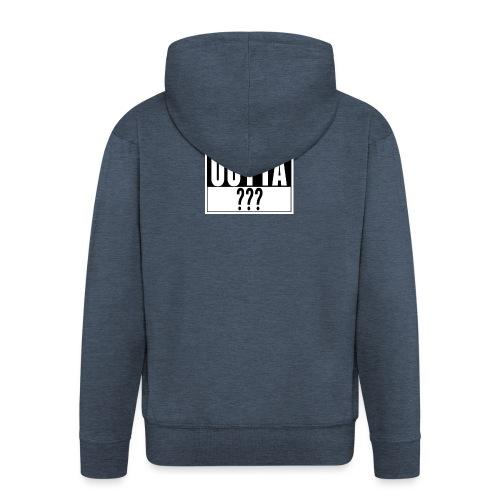 Straight outta - Männer Premium Kapuzenjacke