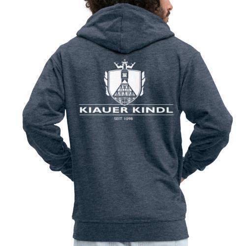Kiauer Kindl - weiss - Männer Premium Kapuzenjacke