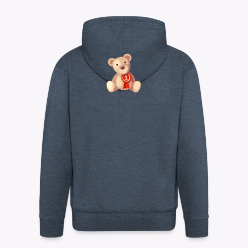 Teddy Bear - Men's Premium Hooded Jacket