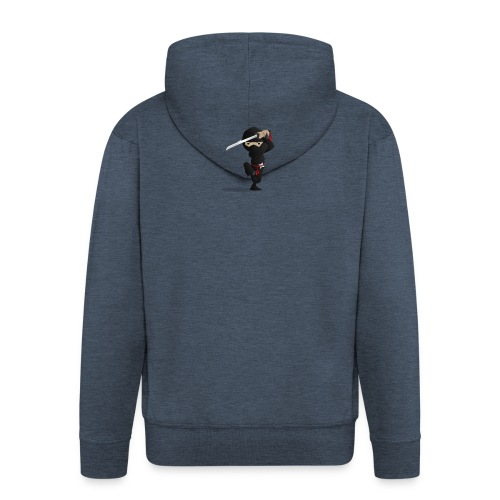 Ninja-PNG - Men's Premium Hooded Jacket