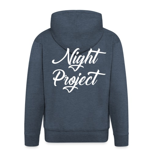 Night-Project - Sans fond - Veste à capuche Premium Homme
