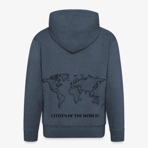 citizenoftheworld - Men's Premium Hooded Jacket
