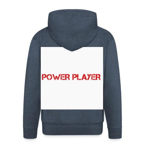 Linea power player - Felpa con zip Premium da uomo