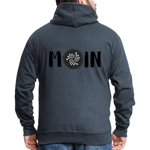 MOIN IOTA | BTC, Kryptowährung | IOTA Shirt - Männer Premium Kapuzenjacke