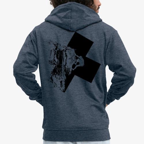 Rock climbing - Men's Premium Hooded Jacket