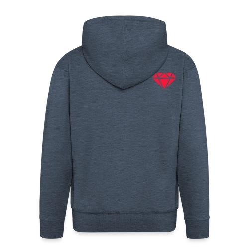 Logomakr_29f0r5 - Men's Premium Hooded Jacket