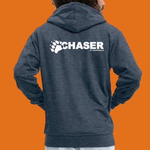 chaser by bearwear new - Men's Premium Hooded Jacket