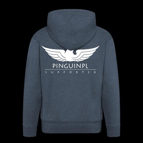 zwolennikiem Whiteline - Rozpinana bluza męska z kapturem Premium