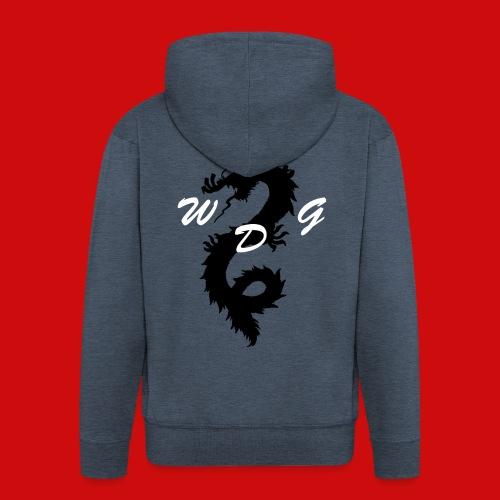 WoodDragonGaming Logo - Men's Premium Hooded Jacket