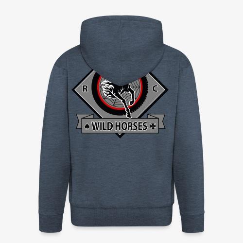 WildHorses - Chaqueta con capucha premium hombre