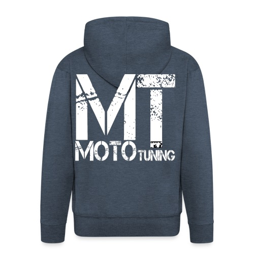 MotoTuning Logo - Men's Premium Hooded Jacket