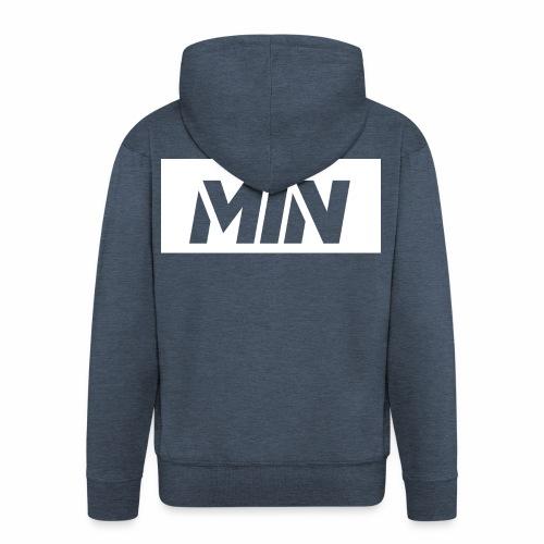 BIJELA LOGO MAJICA - Men's Premium Hooded Jacket