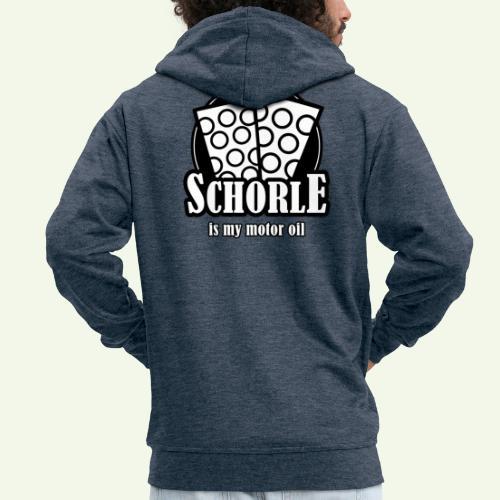 Schorle is my Motoroil Dubbeglaeser - Männer Premium Kapuzenjacke