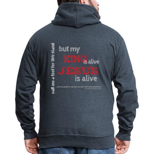 Jesus is alive - Männer Premium Kapuzenjacke