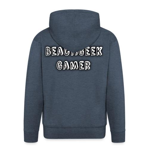 Classic BeachGeek - Men's Premium Hooded Jacket