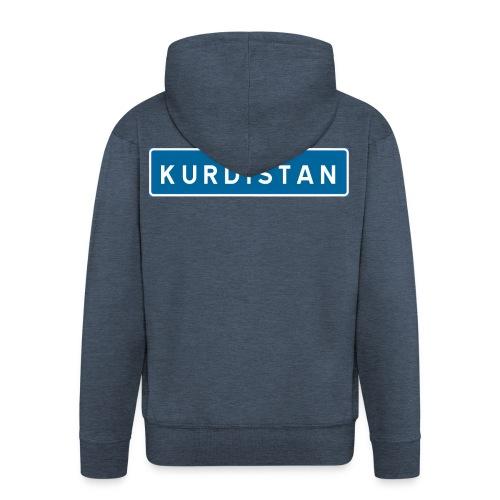 Kurdistanskylt - Premium-Luvjacka herr