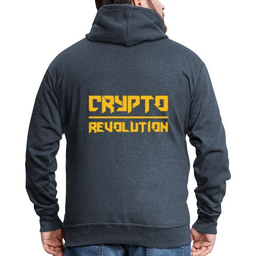 Crypto Revolution III - Men's Premium Hooded Jacket