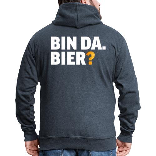 Lustig Bier Party Saufen Alkohol Geschenk - Männer Premium Kapuzenjacke